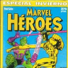 Comics: MARVEL HÉROES MARVEL HÉROES ESPECIAL INVIERNO 1990 CÓMICS FÓRUM MARVEL CÓMICS. Lote 288625543