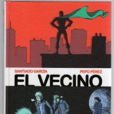 Cómics: EL VECINO 1 Y 2. SANTIAGO GARCIA - PEPO PEREZ. ASTIBERRI, 2010. 1ª EDICION. Lote 288657113