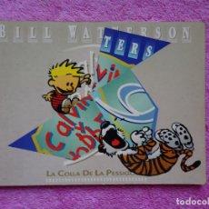 Cómics: CALVIN Y HOBBES 9 LA COLLA DE LA PESSIGOLLA EDITORIAL MARIO AYUSO 1990 BILL WATTERSON. Lote 288677818