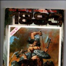 Cómics: 1983, EXTRA Nº 2. COMIC DE TERROR Y FICCION. RETAPADO CONTIENE NUMEROS 7-8-9 Y Nº 72 DE ESCORPION. Lote 288718083
