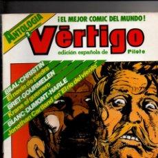 Cómics: ANTOLOGIA VERTIGO Nº 2. RETAPADO CONTIENE LOS NUMEROS 5-6-7-8. EDITORIAL NUEVA FRONTERA 1982. Lote 288718643