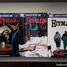 Cómics: HITMAN. UNIVERSO DC. TOMOS 1, 2 Y 3. PLANETA DEAGOSTINI.. Lote 288864153