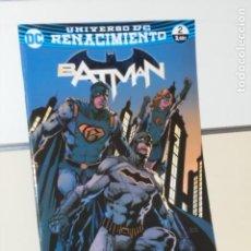 Comics: UNIVERSO DC RENACIMIENTO BATMAN Nº 2 TOM KING - ECC. Lote 288979103
