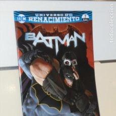 Cómics: UNIVERSO DC RENACIMIENTO BATMAN Nº 7 YO SOY SUICIDA PARTE FINAL TOM KING - ECC. Lote 288981778