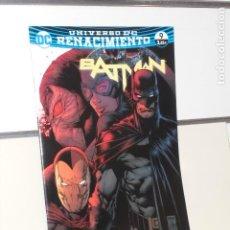 Cómics: UNIVERSO DC RENACIMIENTO BATMAN Nº 9 YO SOY BANE PARTE UNO TOM KING - ECC. Lote 288982288