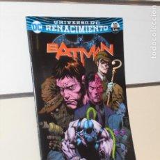 Cómics: UNIVERSO DC RENACIMIENTO BATMAN Nº 10 YO SOY BANE PARTE DOS TOM KING - ECC. Lote 288982413