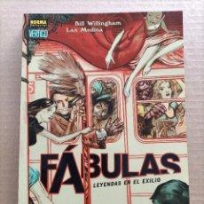 Cómics: FABULAS VERTIGO NORMA EDITORIAL. Lote 288986013