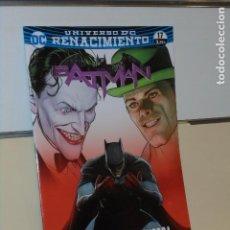 Comics: UNIVERSO DC RENACIMIENTO BATMAN Nº 17 LA GUERRA DE BROMAS Y ACERTIJOS CONCLUSION TOM KING - ECC. Lote 288998808
