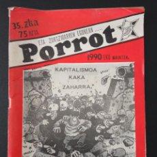 Cómics: PORROT, Nº 35, FANZINE. Lote 289202318
