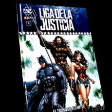 Cómics: DE KIOSCO LIGA DE LA JUSTICIA 4 EL TRONO DE ATLANTIS DC ECC. Lote 289212533