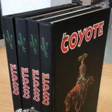 Cómics: EL COYOTE. JOSE MALLORQUI. AGUALARGA EDITORES. 2000. COMPLETA. 4 TOMOS. Lote 289243998