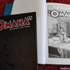 Comics: OMAHA LAS AVENTURAS TOMO 1 Y 2 ASTIBERRI RED WALKER Y KATE WORLEY. Lote 289256883
