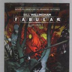 Cómics: FABULAS BILL WILLINGHAM. VOLUMEN 7. COLECCION VERTIGO Nº 36. SALVAT ECC EDICIONES. Lote 289296238