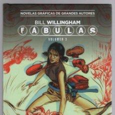 Cómics: FABULAS BILL WILLINGHAM. VOLUMEN 3 COLECCION VERTIGO Nº 32. SALVAT ECC EDICIONES. Lote 289296553