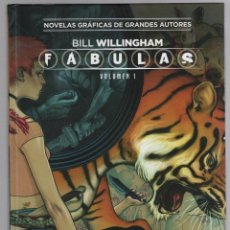 Cómics: FABULAS BILL WILLINGHAM. VOLUMEN 1. COLECCION VERTIGO Nº 30. SALVAT ECC EDICIONES. Lote 289296898