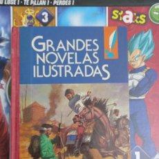 Cómics: GRANDES NOVELAS ILUSTRADAS 10 MUNCHAUSEN CHARLES DICKENS JULIO VERNE. Lote 289315173