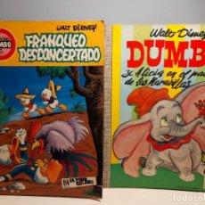 Cómics: 2 COMICS DE LA COLECCION DUMBO : FRANQUEO DESCONCERTADO + DUMBO Y ALICIA EN EL PAIS DE LAS MARAVILLA. Lote 289325868