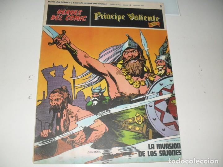 PRINCIPE VALIENTE 6.(DE 96).EDICIONES BURU LAN,AÑO 1971. (Tebeos y Comics - Buru-Lan - Principe Valiente)