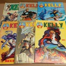 Fumetti: KELLY OJO MÁGICO - EDICIONES SURCO LINEA 83 - LOTE DE 6 NÚMEROS ,1-2-3-4-5 Y 6.. Lote 289495148