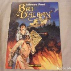 Comics: COMIC BRI D'ALBAN ALFONSO FONT COMO NUEVO NORMA. Lote 289788028