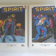 Cómics: LOTE CÓMIC - THE SPIRIT 2 Y 3 - AVENTURA - CLÁSICO - WILL EISNER - COLECCIÓN EL MUNDO - 184 PÁGINAS. Lote 289815668