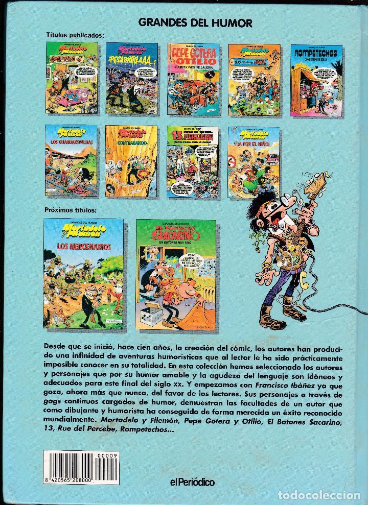 Cómics: MORTADELO Y FILEMON, ¡A POR EL NIÑO! - GRANDES DEL HUMOR Nº 9 - EL PERIODICO - - Foto 2 - 289835643