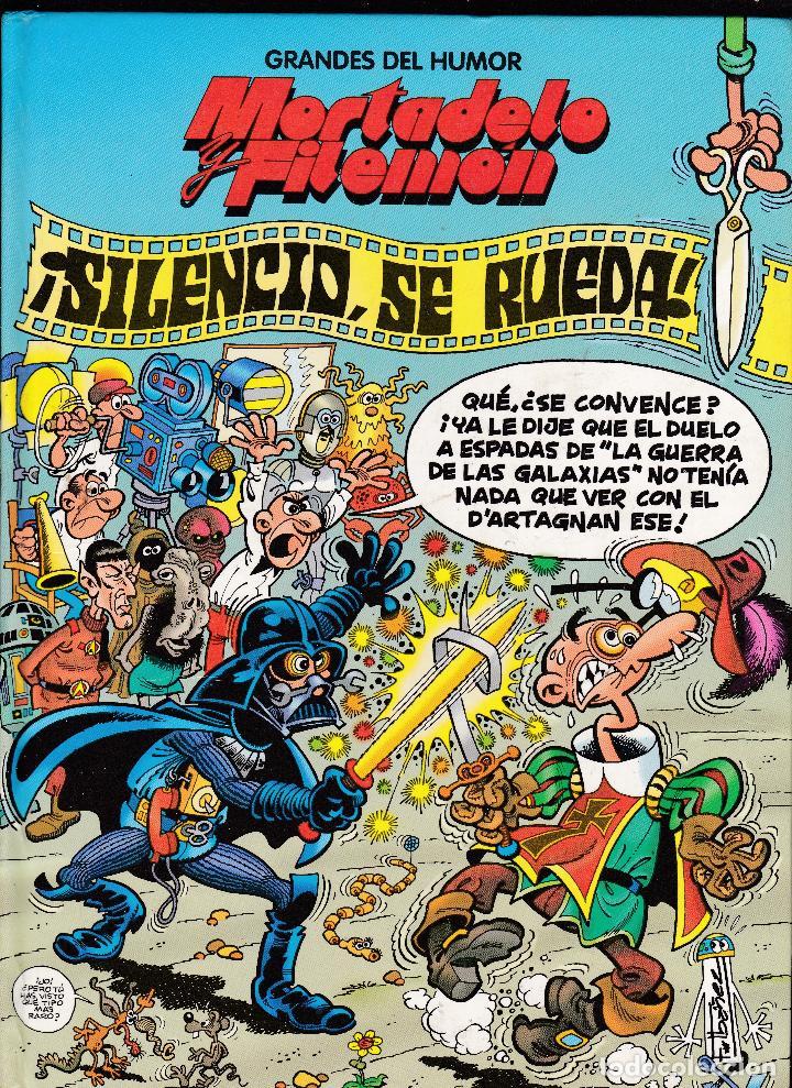 MORTADELO Y FILEMON - ¡SILENCIO SE RUEDA! - GRANDES DEL HUMOR Nº 18 - EL PERIODICO - (Tebeos y Comics Pendientes de Clasificar)