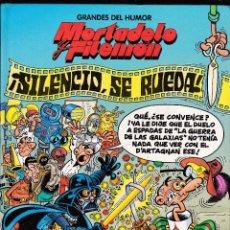 Cómics: MORTADELO Y FILEMON - ¡SILENCIO SE RUEDA! - GRANDES DEL HUMOR Nº 18 - EL PERIODICO -. Lote 289836803