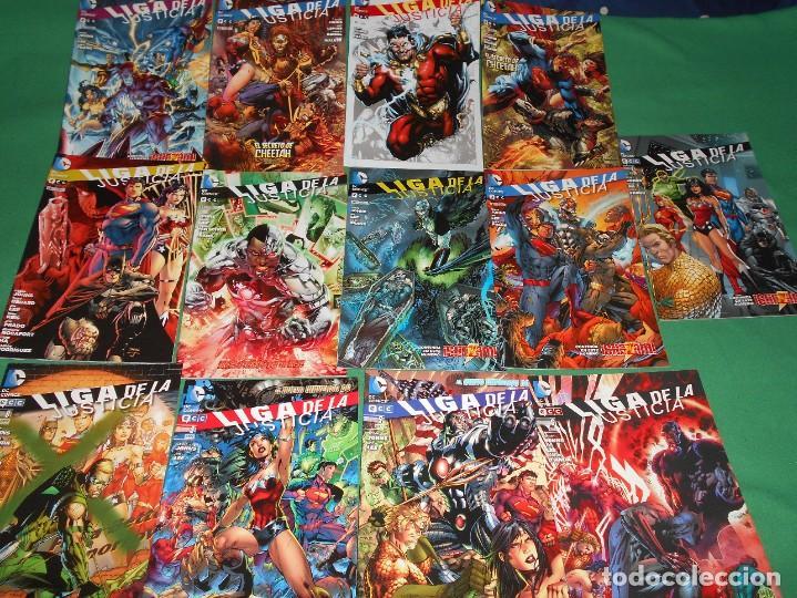LOTE DE 13 COMIC LIGA DE LA JUSTICIA -EL NUEVO UNIVERSO DC-COMIC-NUEVOS (Tebeos y Comics - Comics Colecciones y Lotes Avanzados)