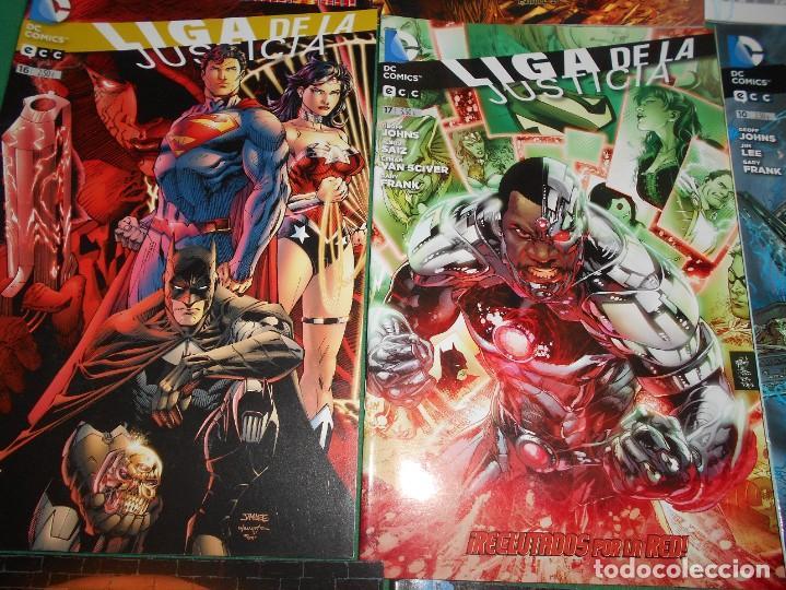 Cómics: LOTE DE 13 COMIC LIGA DE LA JUSTICIA -EL NUEVO UNIVERSO DC-COMIC-NUEVOS - Foto 3 - 289894743