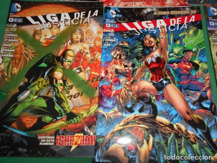 Cómics: LOTE DE 13 COMIC LIGA DE LA JUSTICIA -EL NUEVO UNIVERSO DC-COMIC-NUEVOS - Foto 4 - 289894743