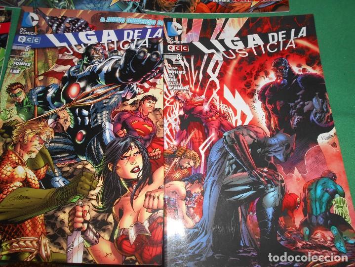 Cómics: LOTE DE 13 COMIC LIGA DE LA JUSTICIA -EL NUEVO UNIVERSO DC-COMIC-NUEVOS - Foto 5 - 289894743