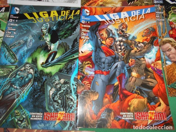 Cómics: LOTE DE 13 COMIC LIGA DE LA JUSTICIA -EL NUEVO UNIVERSO DC-COMIC-NUEVOS - Foto 6 - 289894743