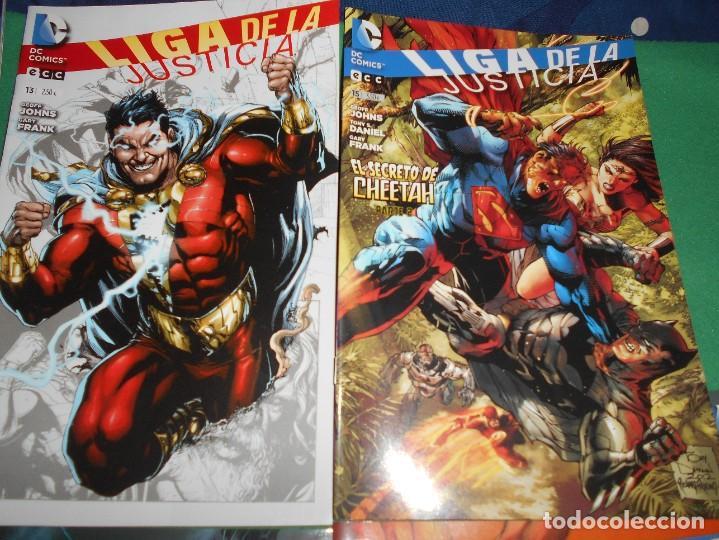 Cómics: LOTE DE 13 COMIC LIGA DE LA JUSTICIA -EL NUEVO UNIVERSO DC-COMIC-NUEVOS - Foto 7 - 289894743