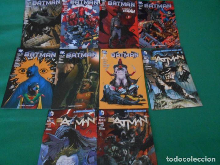 LOTE DE 10 COMIC BATMAN - DC -PLANETA DE AGOSTINI -NUEVOS Nº 1,2,3,50,53.54,56,57,58,59 (Tebeos y Comics - Comics Colecciones y Lotes Avanzados)