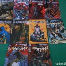 Cómics: LOTE DE 10 COMIC BATMAN - DC -PLANETA DE AGOSTINI -NUEVOS Nº 1,2,3,50,53.54,56,57,58,59. Lote 289895563