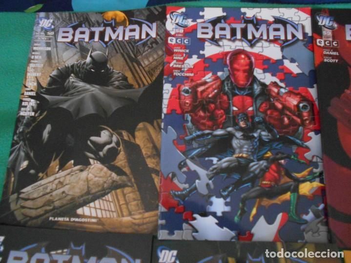 Cómics: LOTE DE 10 COMIC BATMAN - DC -PLANETA DE AGOSTINI -NUEVOS Nº 1,2,3,50,53.54,56,57,58,59 - Foto 2 - 289895563