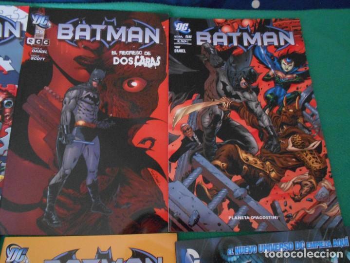 Cómics: LOTE DE 10 COMIC BATMAN - DC -PLANETA DE AGOSTINI -NUEVOS Nº 1,2,3,50,53.54,56,57,58,59 - Foto 3 - 289895563
