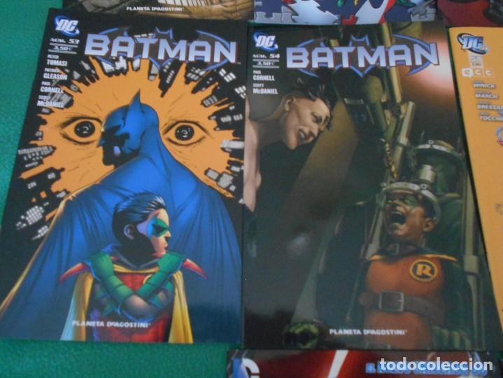 Cómics: LOTE DE 10 COMIC BATMAN - DC -PLANETA DE AGOSTINI -NUEVOS Nº 1,2,3,50,53.54,56,57,58,59 - Foto 5 - 289895563