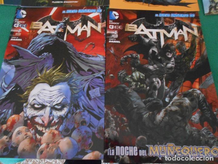 Cómics: LOTE DE 10 COMIC BATMAN - DC -PLANETA DE AGOSTINI -NUEVOS Nº 1,2,3,50,53.54,56,57,58,59 - Foto 6 - 289895563