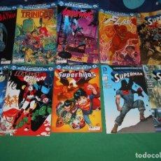 Cómics: LOTE DE 10 COMIC UNIVERSO DC RENACIMIENTO SUPERMAN-BATMAN-FLASH NUEVOS. Lote 289895748