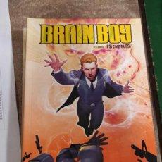 Cómics: BRAIN BOY 1. PSI CONTRA PSI (FRED VAN LENTE / R. B. SILVA). Lote 289905163