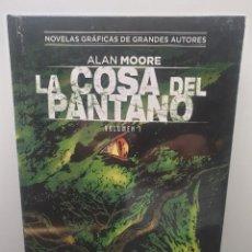 Cómics: LA COSA DEL PANTANO VOLUMEN 1. ALAN MOORE. COLECCIÓN VERTIGO 63. NOVELAS GRÁFICAS DE GRANDES AUTORES. Lote 289944893