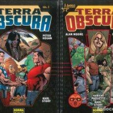 Fumetti: TERRA OBSCURA COLECCION COMPLETA NÚMEROS 1-2 NORMA EDITORIAL ALAN MOORE. Lote 290014603