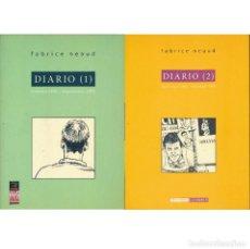 Fumetti: DIARIO (1) Y DIARIO (2). FABRICE NEAUD. COMPLETA. LA CUPULA. Lote 290137993