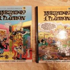 Fumetti: 2 COMICS MORTADELO Y FILEMON SALVAT EDICIÓN COLECCIONISTA NUEVOS. Lote 290756538
