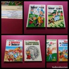 Fumetti: LOTE DE 15 ASTERIX EN CATALAN -BUEN ESTADO -VER FOTOS-TAPA DURA. Lote 291159473