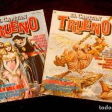 Cómics: LOTE DE 2 TEBEOS EL CAPITÁN TRUENO. Lote 291289313