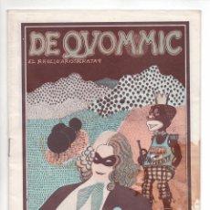Comics: DE QVOMMIC DE QUOMMIC, EL RROLLO ARISTOCRATA. UNDERGROUND. Lote 292174763
