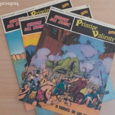 Cómics: EL PRÍNCIPE VALIENTE. LOTE DE 3 EJEMPLARES. BURU LAN. Lote 292658448